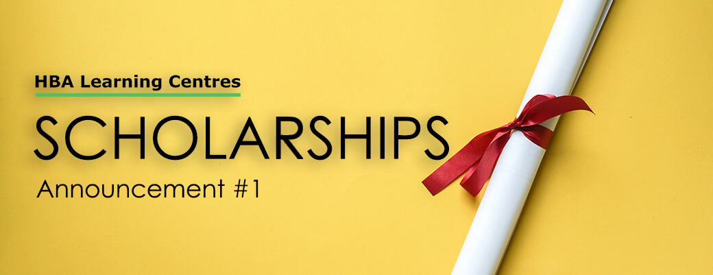 Announcement #1 - scholarships for 10 people severely affected by covid-19 scholarshop announcment 1