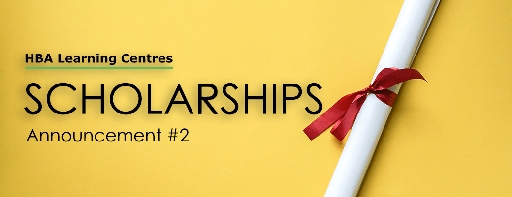 Announcement #2 - scholarships for 10 people severely affected by covid-19 scholarshop announcment 2