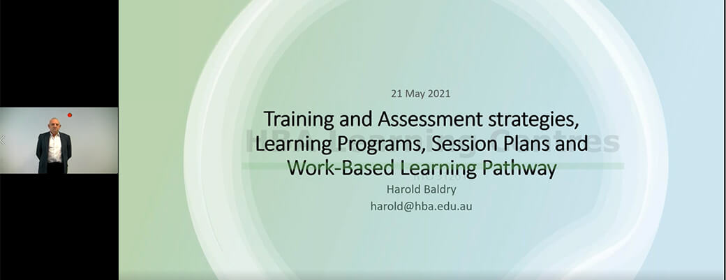 Pd session 3 | tas, learning programs, session plans and work-based learning pathway ss pd 3